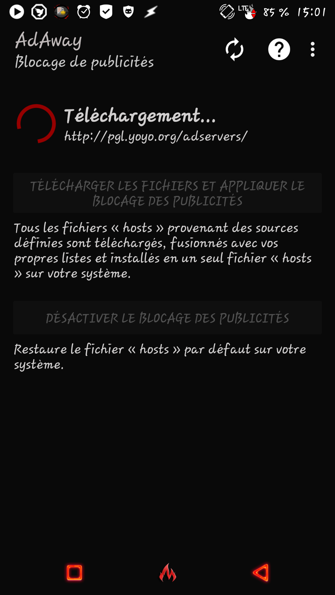 [APPLICATION ANDROID - ADAWAY] Fichier APK AdAway pour bloquer les publicités et gérer votre fichier hosts [15.04.2016] 14286245761024