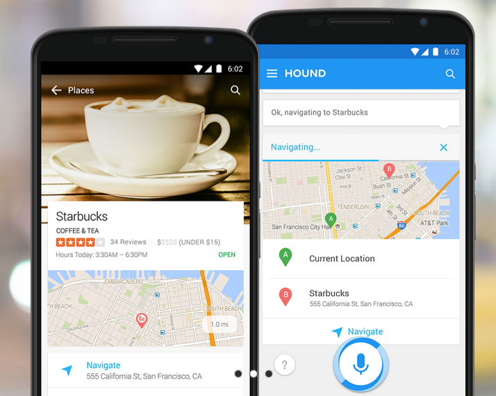 [HOUND ANDROID et iOS] Assistant personnel réactif et pertinent à la Google Now par SoundHound 14333245761171