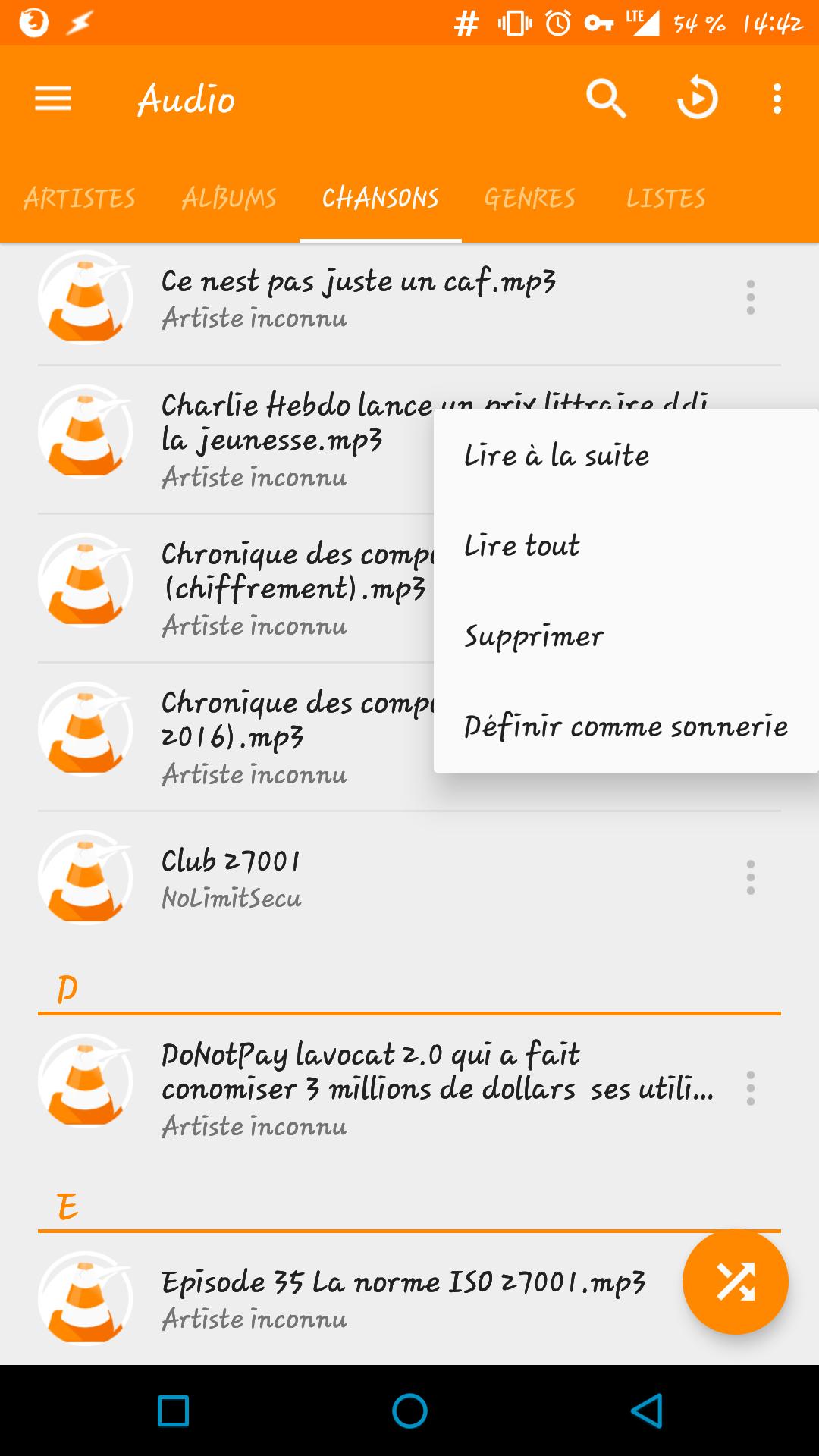 [ASTUCE] Créer une liste de lecture (playlist) avec VLC sous Android 145682351762073