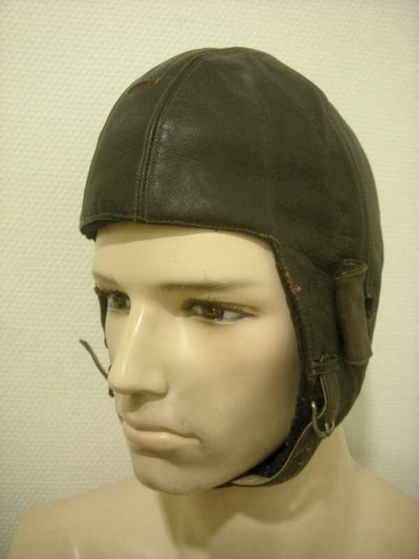 casque souple en cuir WWII 15243948892113457129