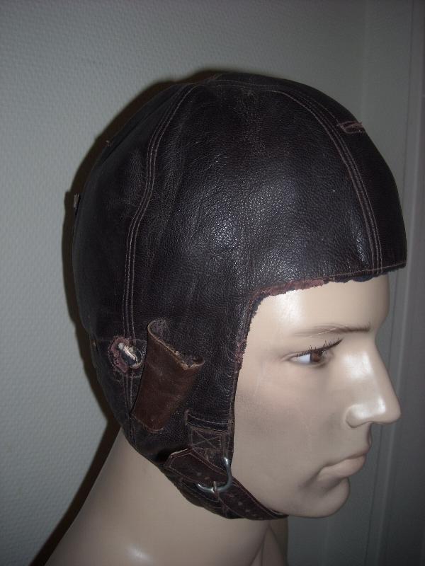 casque souple en cuir WWII 1524394955388152302