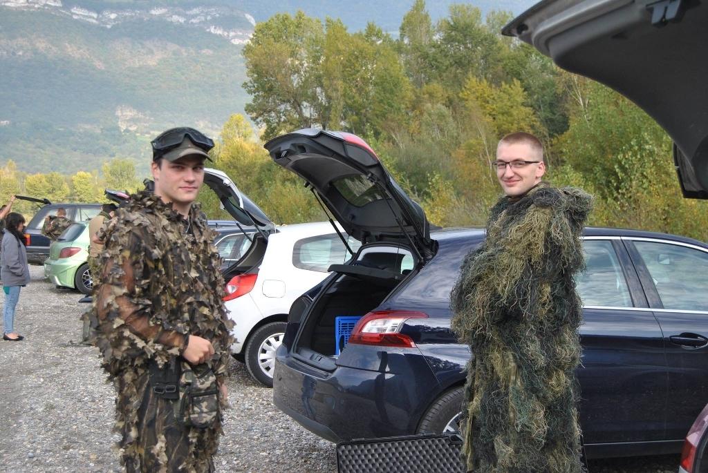 prét pour la chasse!