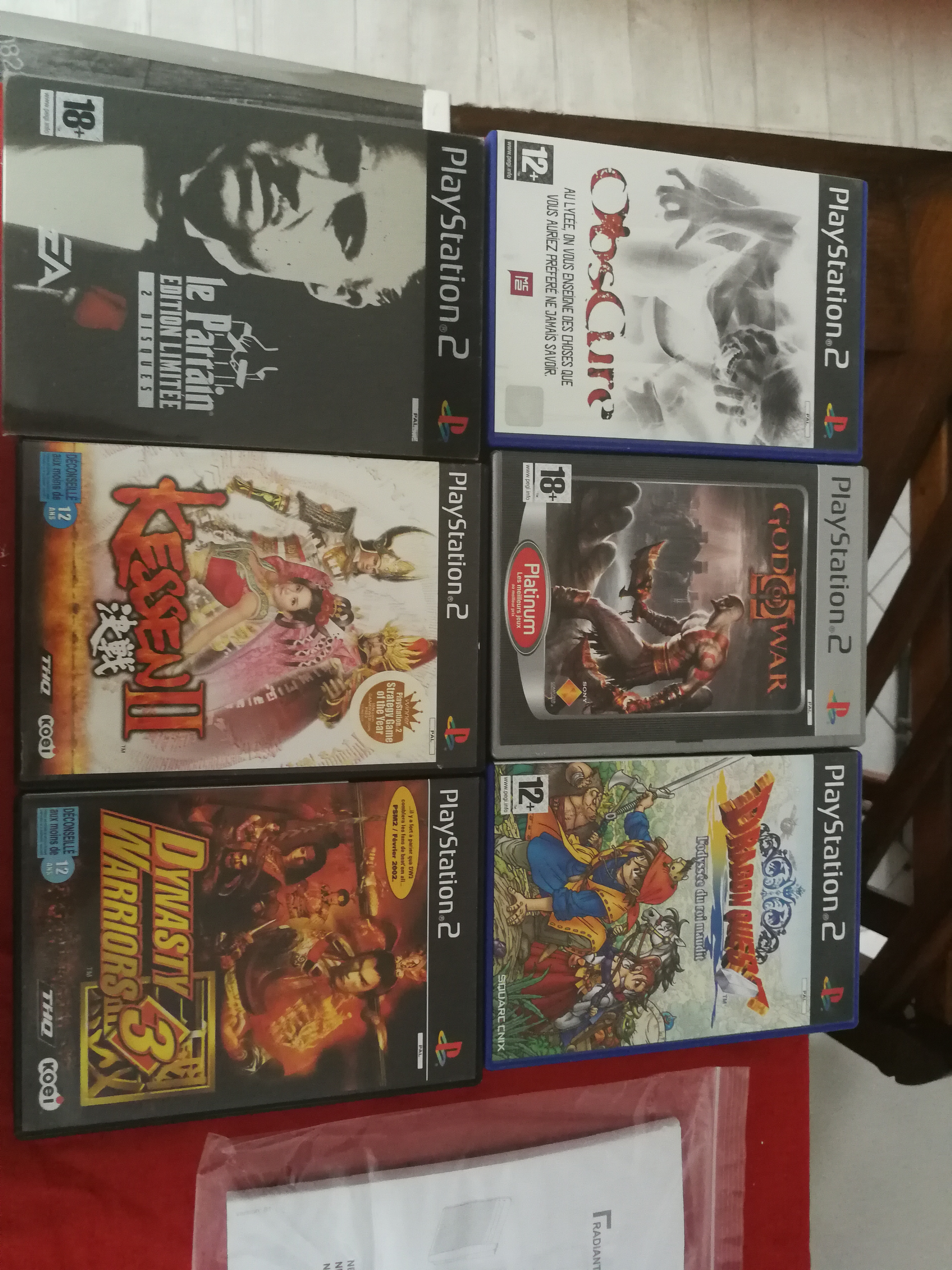 Vends ps1, ps2, bluray, bouquins... 1527412272137064567