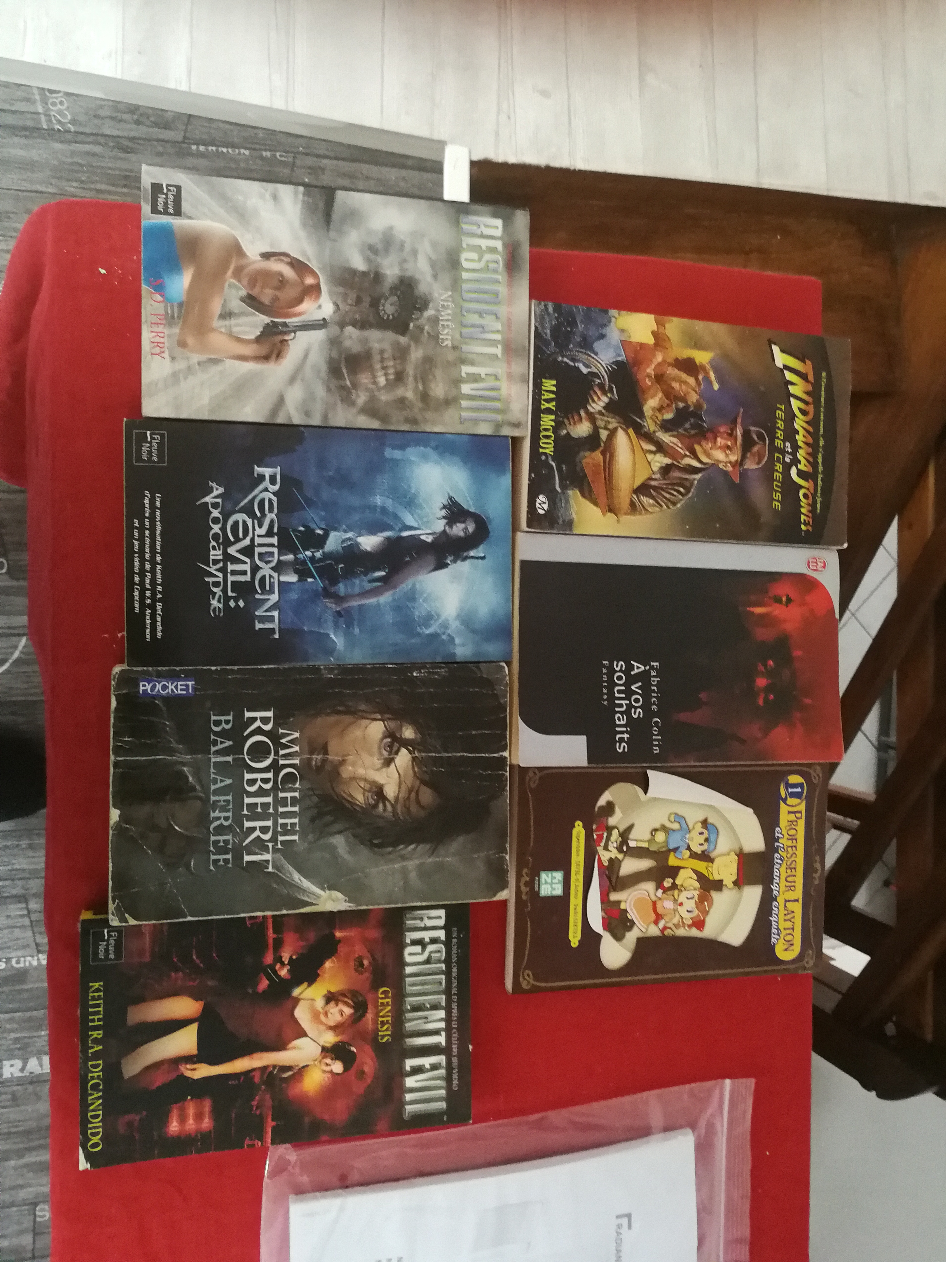 Vends ps1, ps2, bluray, bouquins... 15274127061008162914