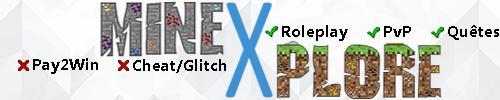 Serveur Minecraft MineXplore